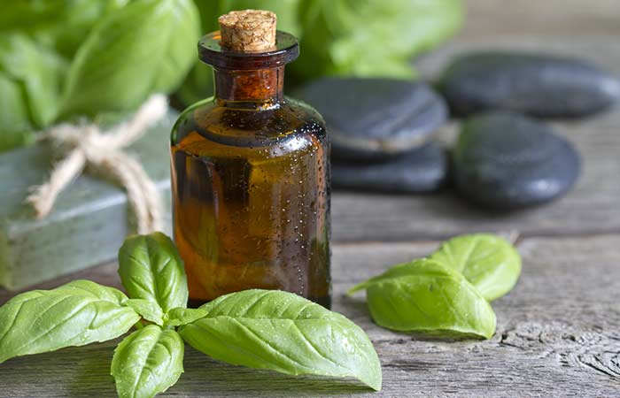 7. Basil Essential Oil