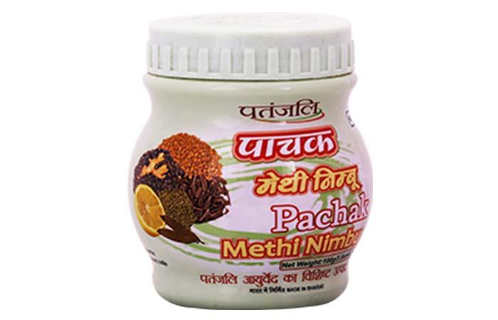 Best Patanjali Products For Weight Loss - Patanjali Pachak Methi Nimbu