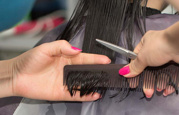 8. Trim Your Hair At Regular Intervals