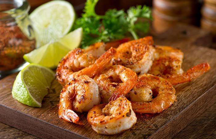 Vitamin D For Weight Loss - Shrimp
