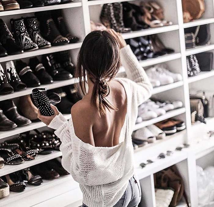 9. Look Into Your Shoe Closet