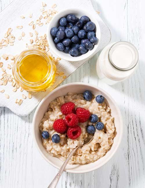 Dietary Fiber Satiates