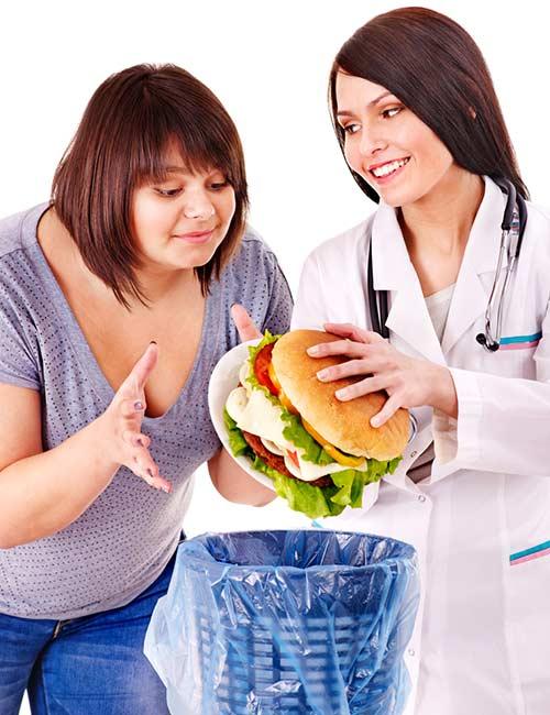Abbandona il cibo spazzatura