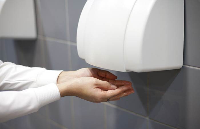 Hand Dryers with Dryer