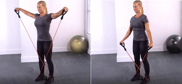 Resistance Band Lateral Raise