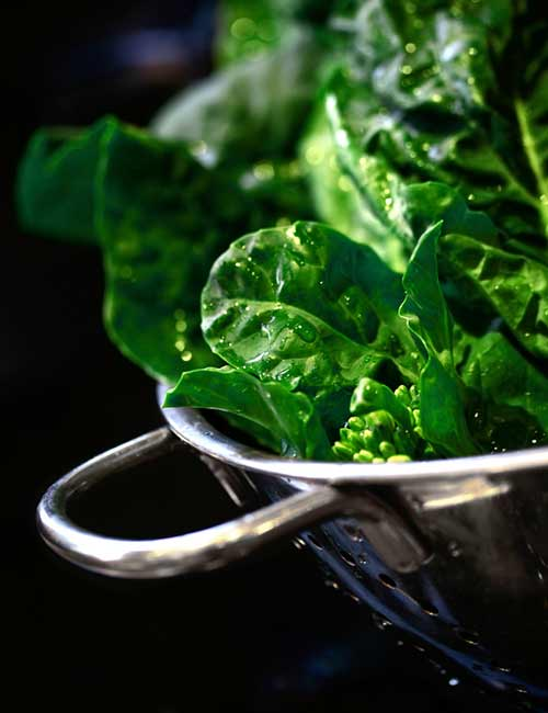 Post-Workout Foods - Dark Leafy Greens