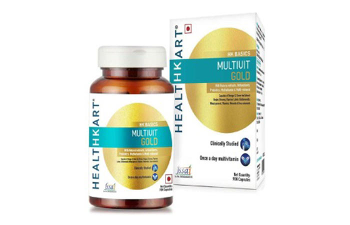 Best Multivitamins For Women - Healthkart Multivit Gold
