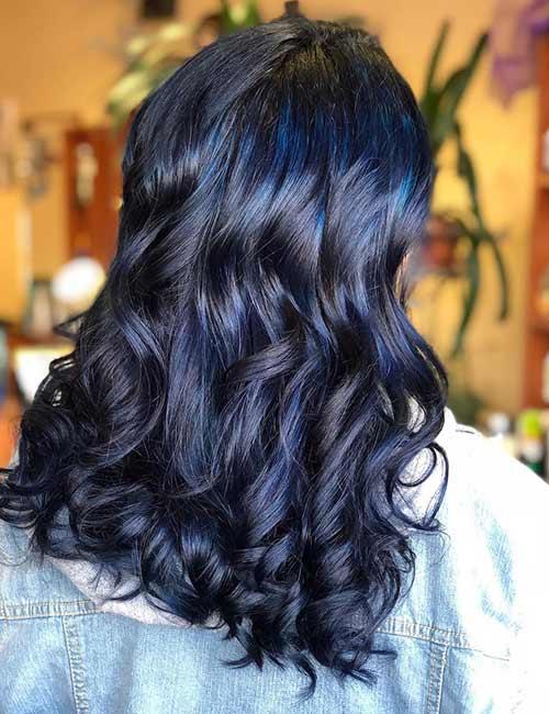 10. Light Purple And Blue Hair