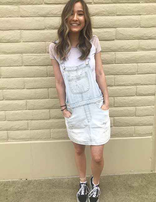 Overall Outfit Ideas - Overall Skirt Dress