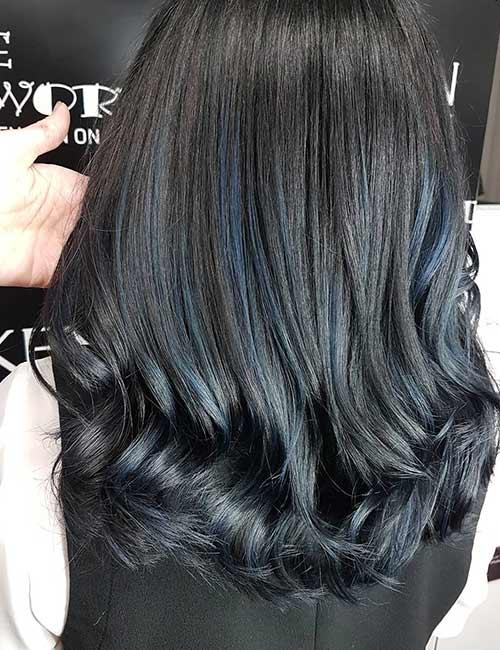 13. Blue Silver Black