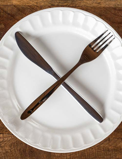 13. You Skip Meals