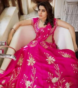 15 Best Photos Of Samantha In A Saree