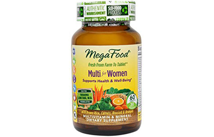 16. MegaFood Multi for Women