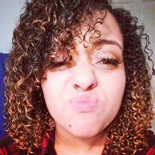 Curly Hairstyles With Bangs - Rain Curls