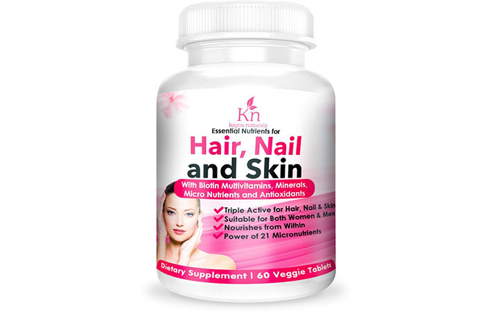 Best Multivitamins For Women - Kayosnaturals Hair, Nail and Skin with Biotin Multivitamins