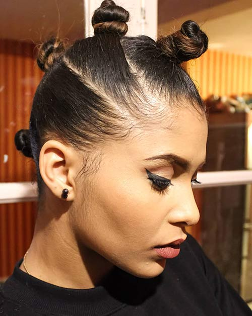 20 Best Bantu Knots Hairstyles