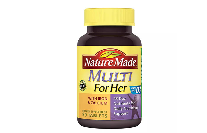 Best Multivitamins For Women - Nature Made, Multi For Her With Iron And Calcium
