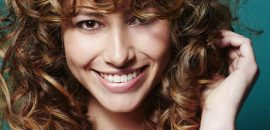 20 Most Incredible Curly Hairstyles With Bangs