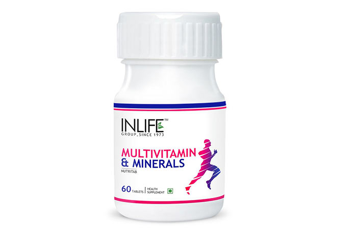 20. Inlife Multivitamin and Minerals