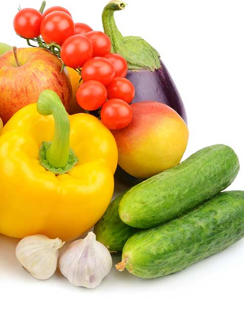 3. Fruit and Vegetables
