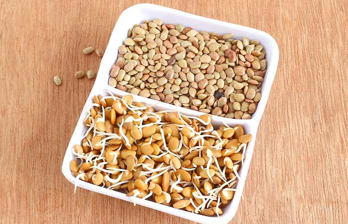 3. Sprouted Horse Gram
