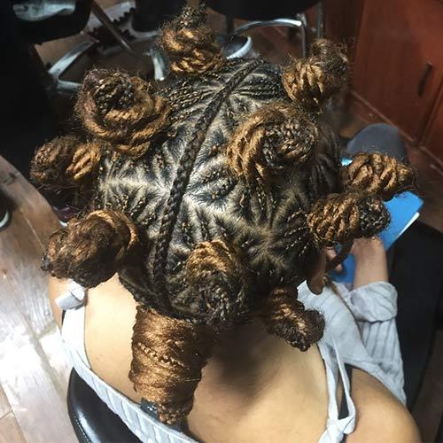 Best Bantu Knots Hairstyles - Twists And Braids
