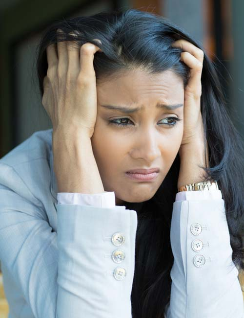 Possible Reasons You Feel Hungry All The Time - You Are Stressed Or Depressed