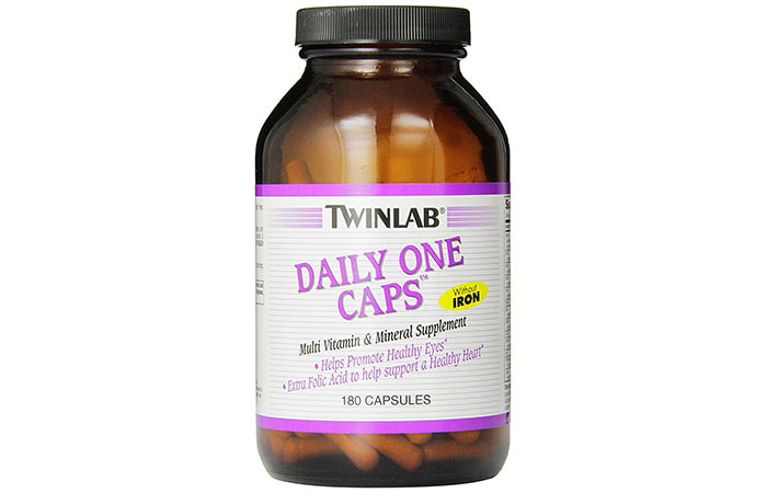 Best Multivitamins For Women - Twinlab Daily One Caps Multi-Vitamin and Mineral Supplement