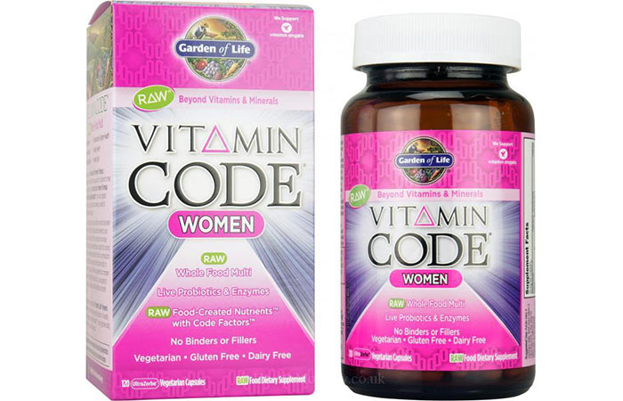 Best Multivitamins For Women - Garden of Life Vitamin Code For Women