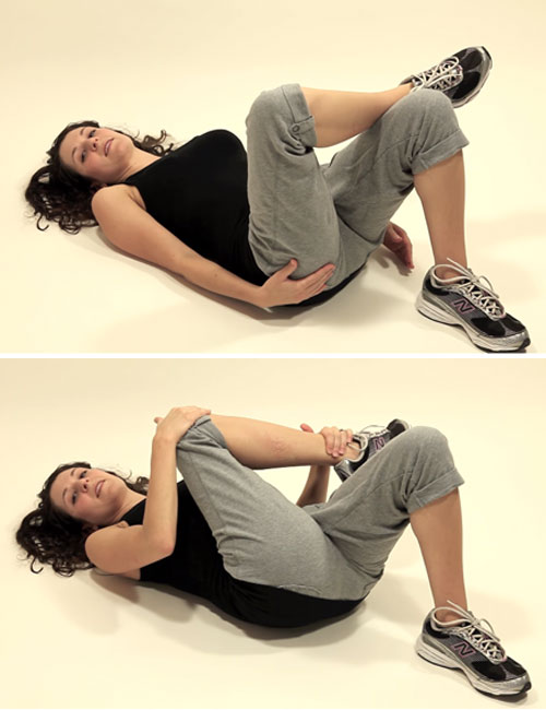 Exercises For Lower Back Pain - Piriformis Muscle Stretch