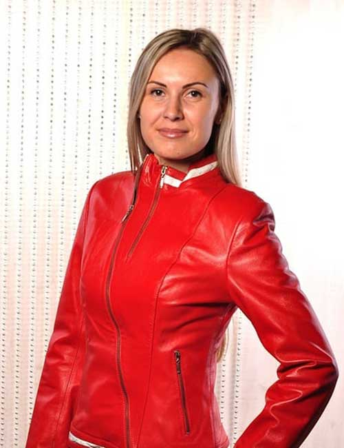 How To Wear A Leather Jacket - Red Leather Jacket