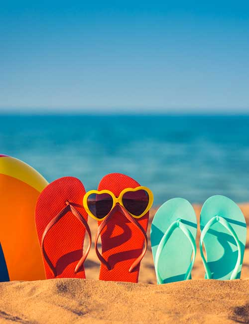 What To Wear On A Cruise - Flip Flops