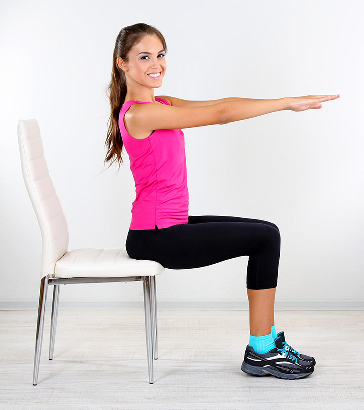 7 Exercises For A Flat Belly That You Can Do Even While Sitting On A Chair