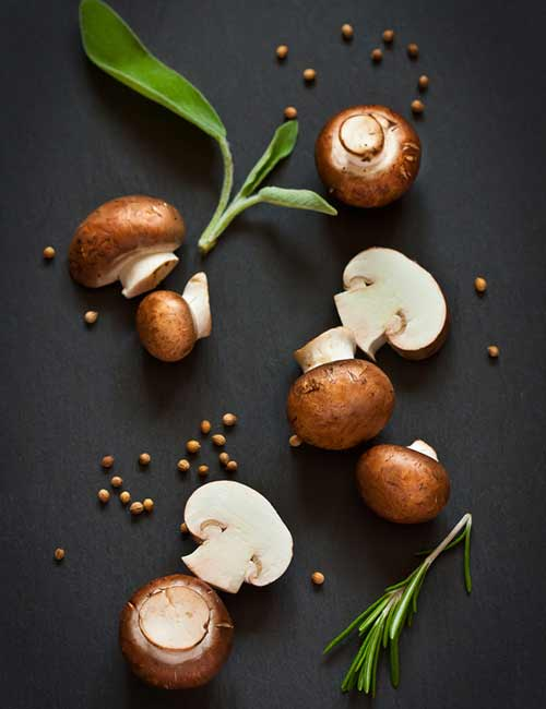 Post-Workout Foods - Mushroom