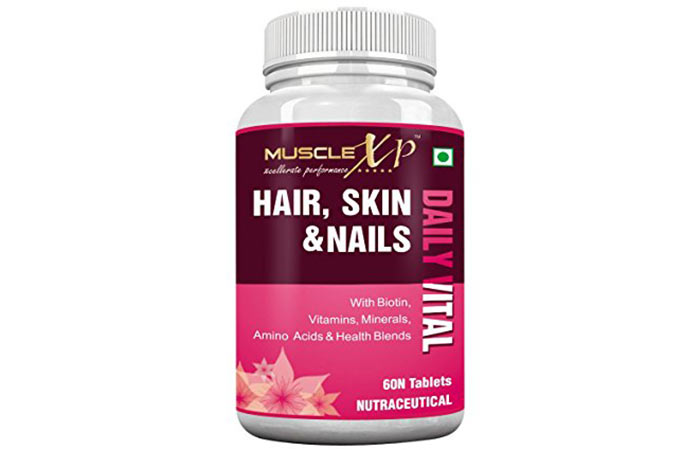 Best Multivitamins For Women - MuscleXP Hair, Skin & Nails With Biotin, Vitamins, Minerals, And Amino Acids
