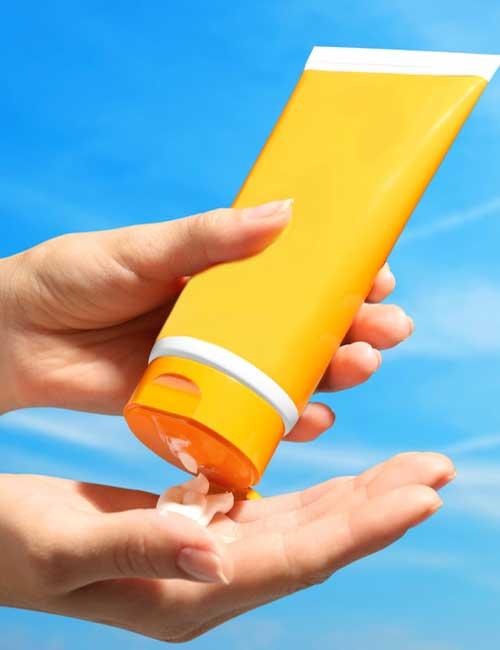 8. Sunscreen