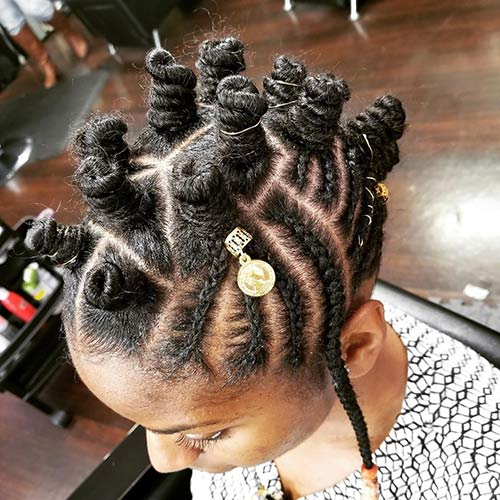 20 Best Bantu Knots Hairstyles