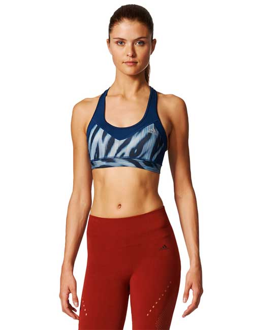 Adidas Molded Techfit Bra For Sagging Breasts