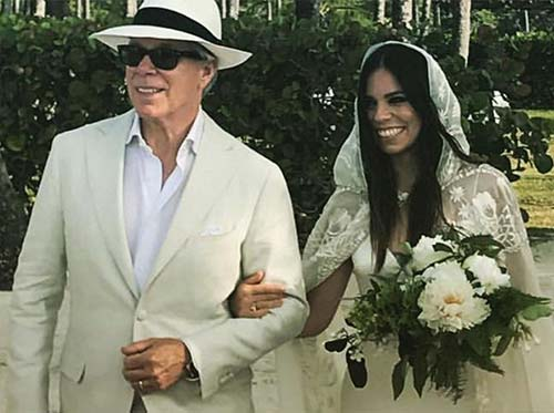 Best Celebrity Wedding Dresses - Ally Hilfiger
