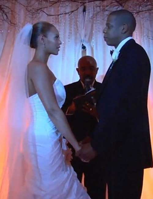 Best Celebrity Wedding Dresses - Beyonce