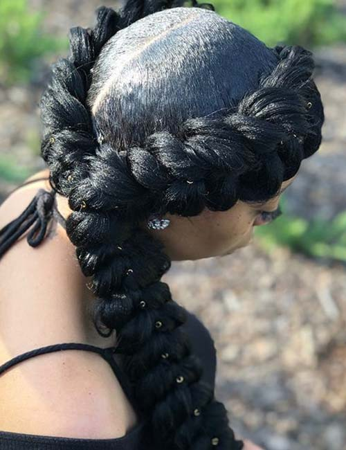 10 Amazing Black Braided Hairstyles
