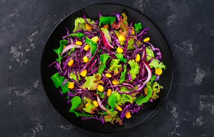 Eat Purple With The Green