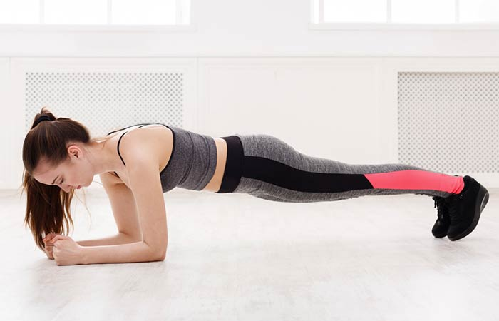 Best Core exercises - Elbow Plank