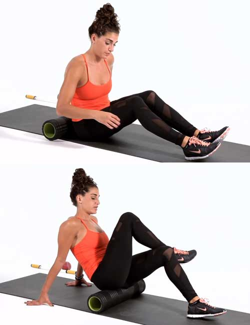 Exercises For Lower Back Pain - Foam Rolling For The Lower Back