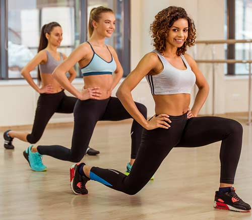 How To Get Curves - Forward Lunges