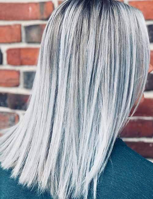 Frosted Platinum