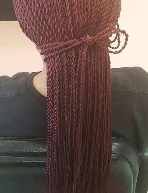 Hair Tie Senegalese Twists