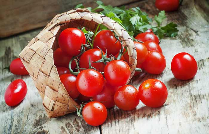They have tomatoes to prevent depression, sunburn and breast cancer