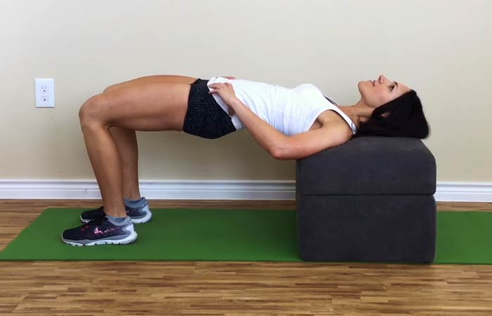 Best Core exercises - Hip Thrust