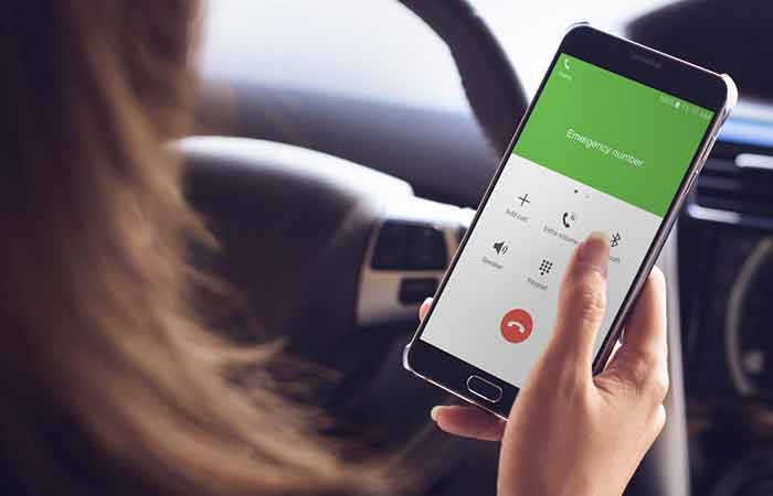 If you want to get the fastest help in dialing the emergency hotline